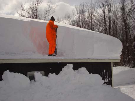 Flat Roof Snow Removal Do S And Don Ts