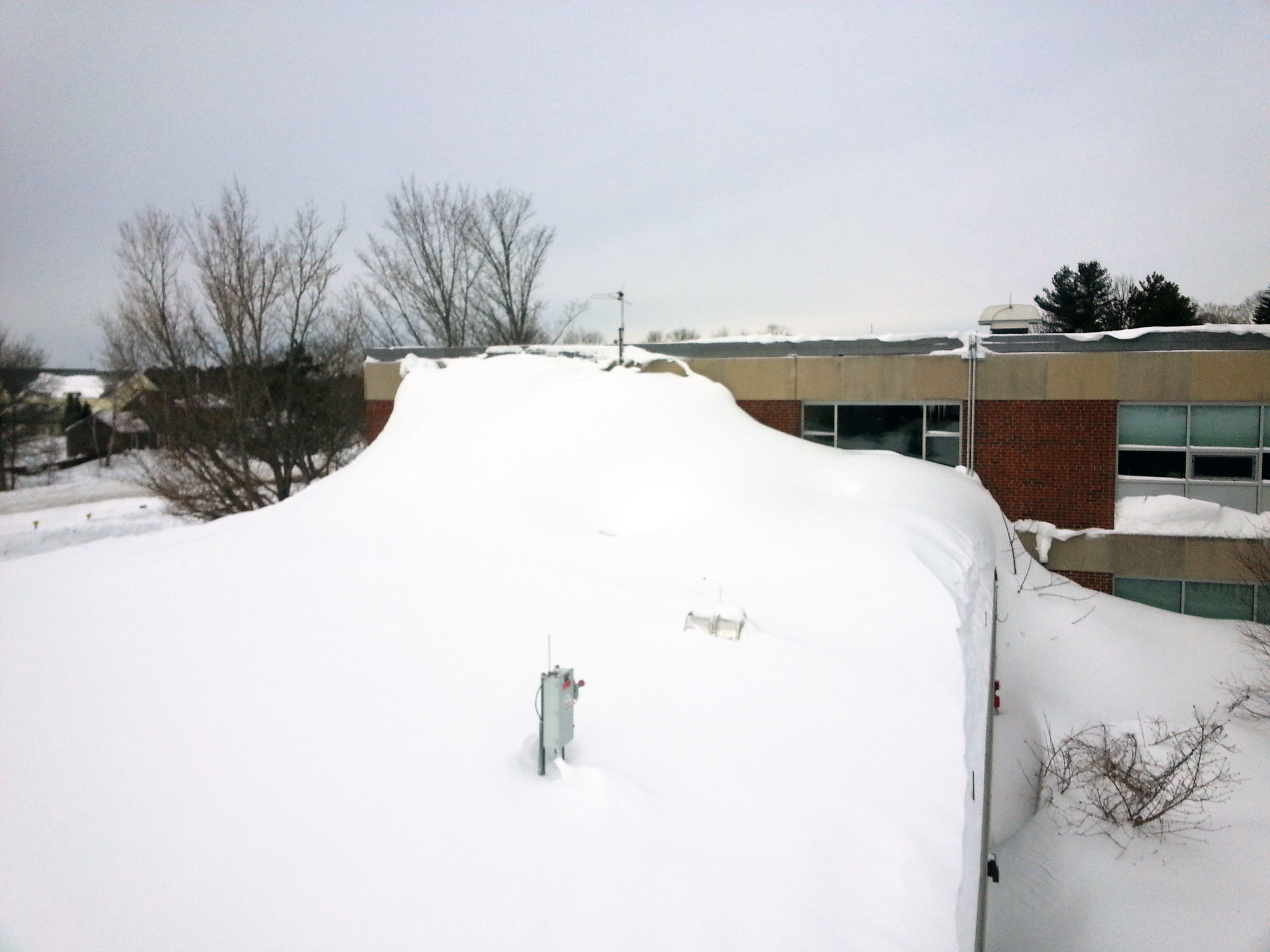 Great lakes systems blog kyle clausen for Snow loads on roofs